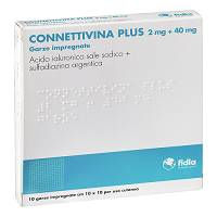 CONNETTIVINA PLUS*10GARZE10x10